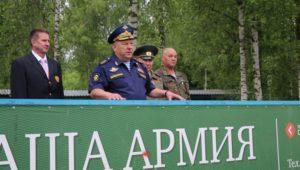 Владимир Шаманов посетил ОСЦ Преображенский
